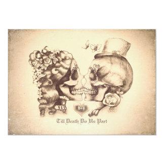Skull Wedding Invitations Announcements Zazzlecouk