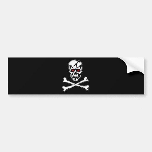Skull & Cross Bone! Bumper Stickers