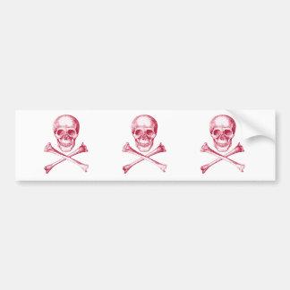 Skull & Cross Bones. Bumper Sticker