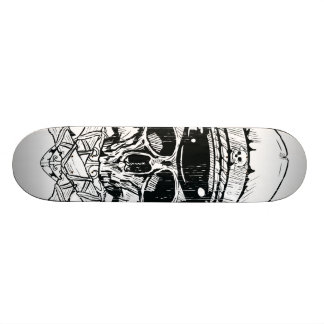 Skull & Cross Bones Rebel Skateboard