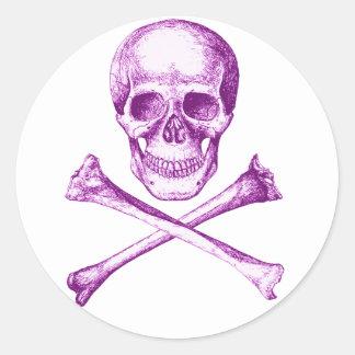 Skull & Cross Bones. Stickers