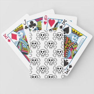 Skull & Crossbones Bicycle Playing Cards