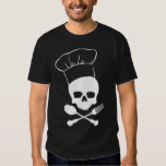 Skull & Crossbones Chef Tshirts