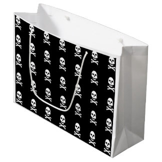 Skull & Crossbones Gift Bag