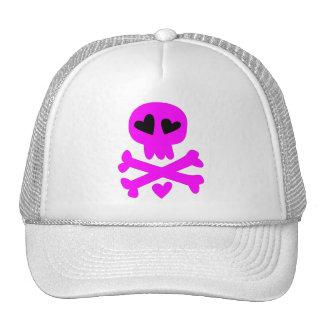 Skull crossbones Halloween Trucker Hats