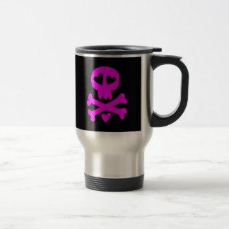 Skull crossbones Halloween Mugs