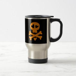 Skull crossbones Halloween Coffee Mug