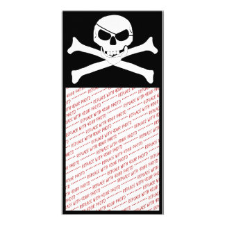 Skull & Crossbones - Jolly Roger Card