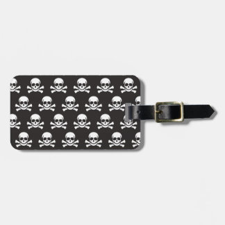 Skull & Crossbones Luggage Tag