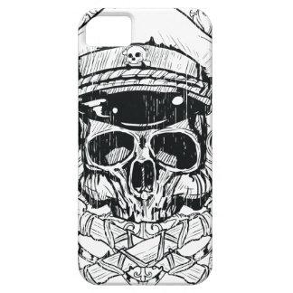 Skull & Crossbones Metal Punk iPhone 5 Case