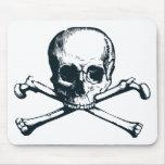 skull crossbones mousemats