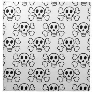 Skull & Crossbones Napkin