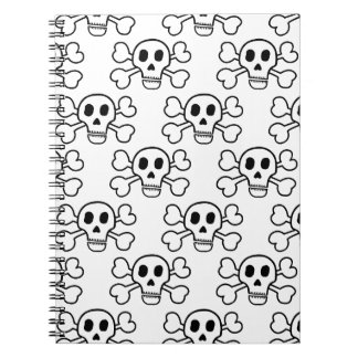 Skull & Crossbones Notebook