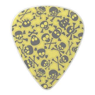 Skull & Crossbones Pattern Acetal Guitar Pick