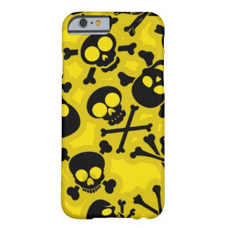 Skull & Crossbones Pattern Barely There iPhone 6 Case