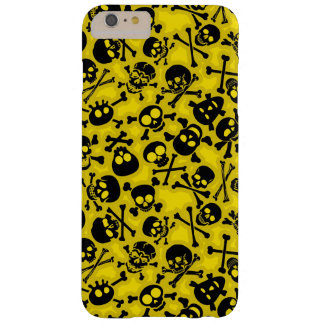 Skull & Crossbones Pattern Barely There iPhone 6 Plus Case