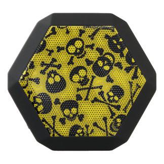 Skull & Crossbones Pattern Black Bluetooth Speaker