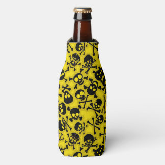 Skull & Crossbones Pattern Bottle Cooler