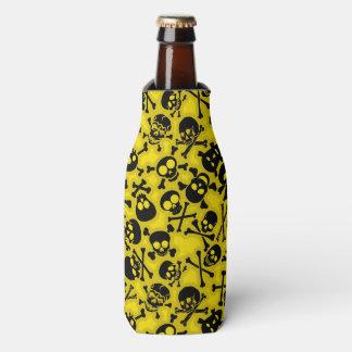 Skull & Crossbones Pattern Bottle Cooler