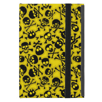 Skull & Crossbones Pattern Cover For iPad Mini