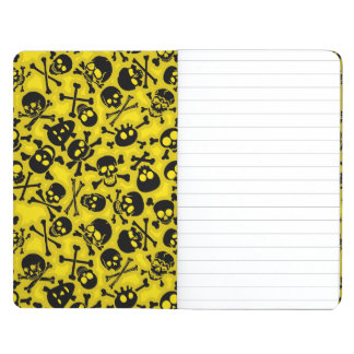 Skull & Crossbones Pattern Journal