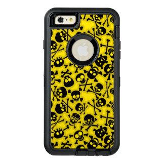 Skull & Crossbones Pattern OtterBox Defender iPhone Case