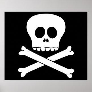 Skull & Crossbones Print