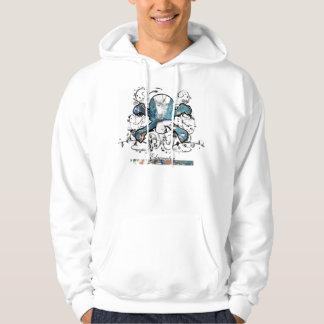 Skull & Crossbones -Shirt Hoody