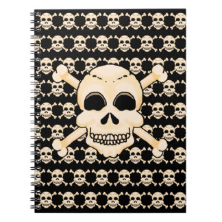 Skull & Crossbones Spiral Notebook