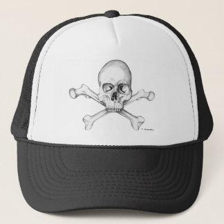 Skull & Crossbones Trucker Hat