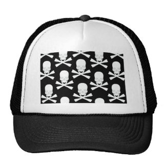 Skull & Crossed Bones Design Cap