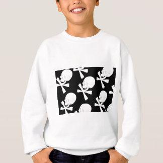 Skull & Crossed Bones Design Sweatshirt