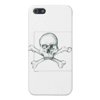 Skull & Crossed Thigh Bones iPhone 5/5S Case