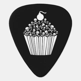 Skull Cupcake Guitar Pick