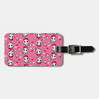 Skull Cupcake Madness Luggage Tag