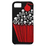 Skull Cupcake Tough iPhone 5 Case