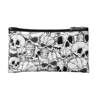 Skull Custom Large Pattern Makeup Bag