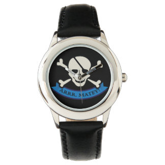 Skull - Custom Stainless Steel Black Wrist Watch