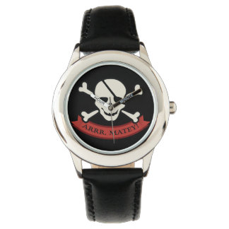Skull - Custom Stainless Steel Black Wrist Watches