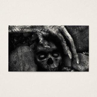 Skull Customizable Halloween Business Cards