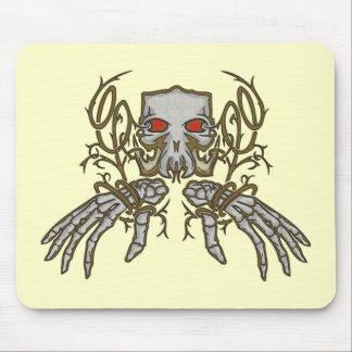Skull Day of the Dead Mouse Pads