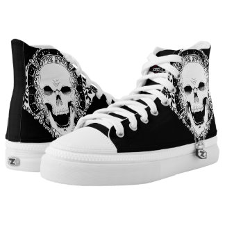 Skull Decor hightops