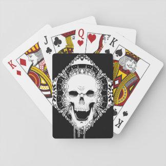 Skull Decor playing cards