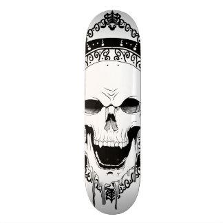 Skull Decor skateboard