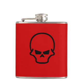 Skull Design Hip flask