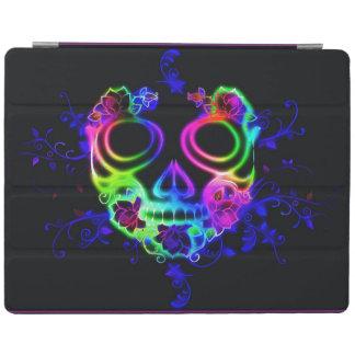 Skull design iPad cover