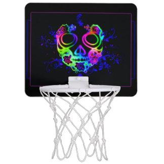 Skull design mini basketball hoop