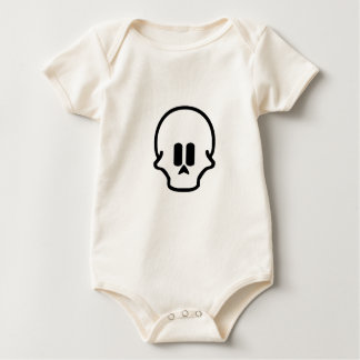 Skull Design Twenty Three Baby Bodysuit