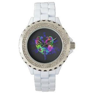Skull design watch