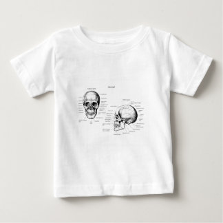 Skull Details Side and Face Tee Shirts